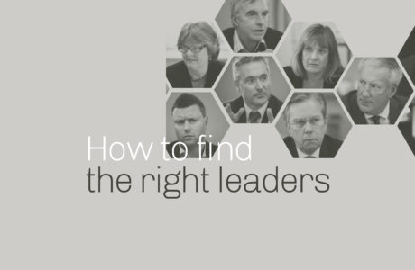 How to find the right leaders in the NHS