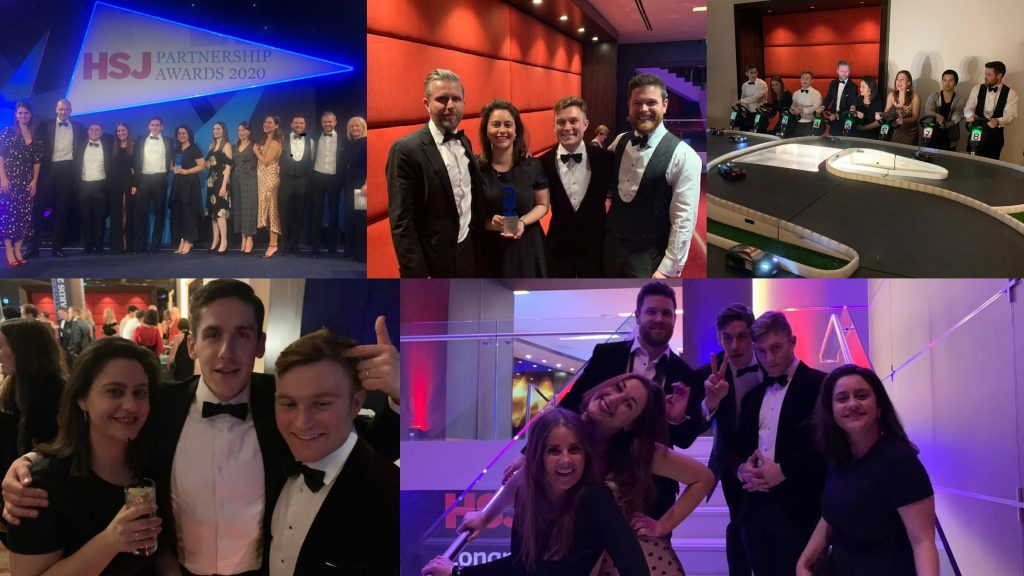 NHS Recruitment Services Provider of the Year at the HSJ Partnership Awards