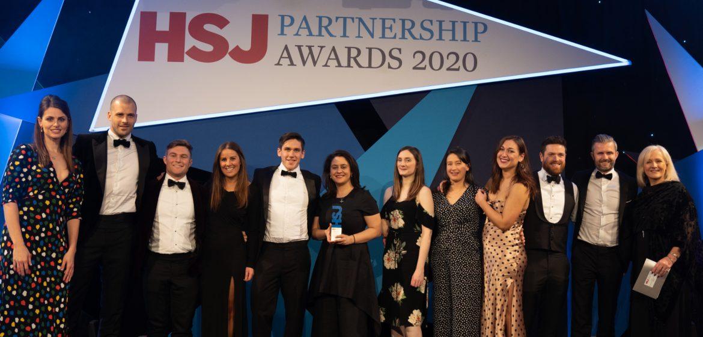 Hunter Healthcare NHS Partner of Choice 2020, HSJ Partnership Awards