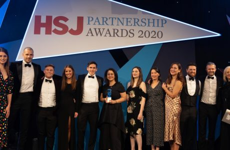Hunter Healthcare NHS Partner of Choice 2020, HSJ Partnership Awards